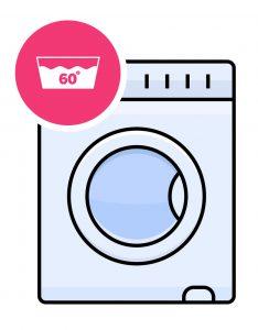 Machine à laver 60 degrès