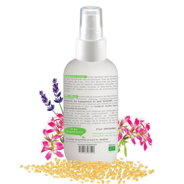 lotion préventive biphase anti poux BIO 125ml