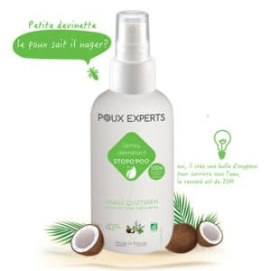 spray démêlant anti poux BIO 125ml