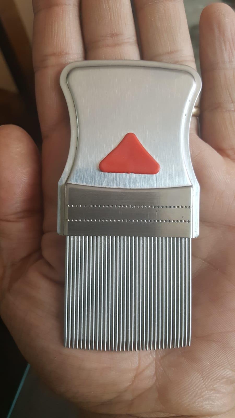 conception d'un nouveau peigne à poux
