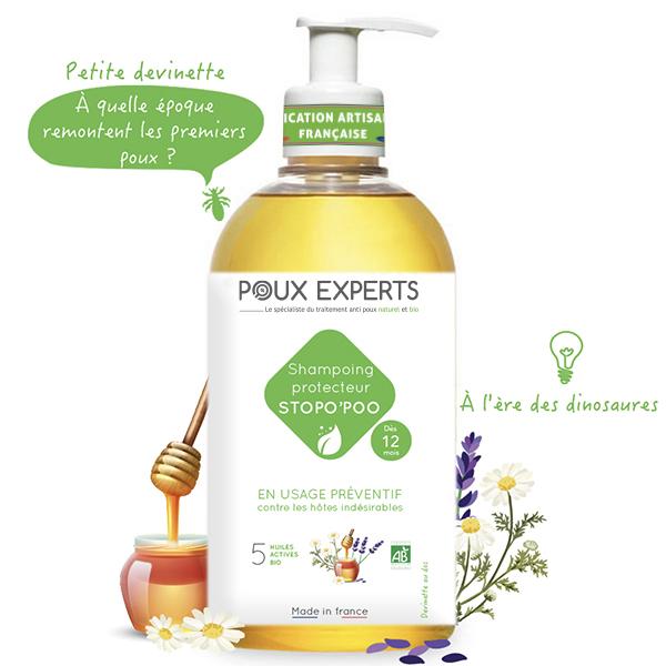 shampoing anti poux Bio
